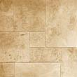 Tumbled Light Travertine Tiles Large size